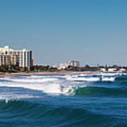 Pompano Beach, Florida, Exterior View Art Print