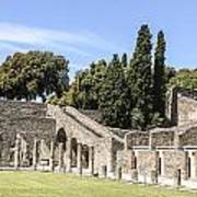 Pompeii 2 Art Print