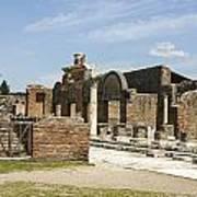 Pompeii 3 Art Print
