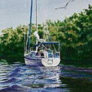 Ponce De Leon Passage Art Print by Karol Wyckoff
