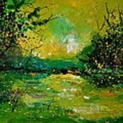 Pond 5431 Art Print