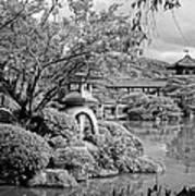 Pond At Heian Shrine - Kyoto Art Print