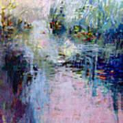 Pond Grasses Art Print
