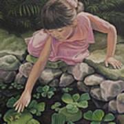 Pond Magic Art Print