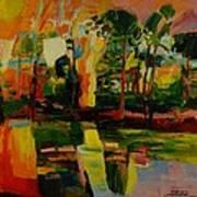 pond No.3 Art Print