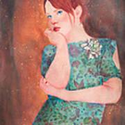Pondering  Art Print