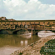 Pont De Vecchio On The Arno Art Print