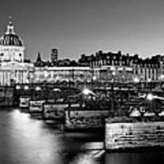Pont Des Arts And Institut De France / Paris Art Print