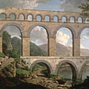 Pont Du Gard, Nimes Art Print