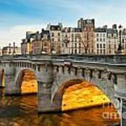 Pont Neu - Paris  Art Print