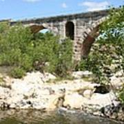 Pont St. Julien And River Art Print