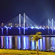 Ponte Estaiada De Aracaju - Construtor Joao Alves Art Print