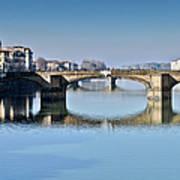 Ponte Santa Trinita Florence Italy Art Print