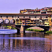 Ponte Vecchio Bridge - Florence Art Print