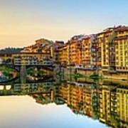 Ponte Vecchio In Early Morning Art Print