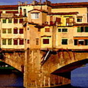 Ponte Vecchio In Florence Art Print