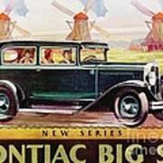 Pontiac Big Six - Poster Art Print