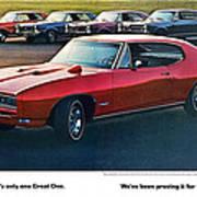 Pontiac Gto - 1964 1965 1966 1967 1968 Art Print