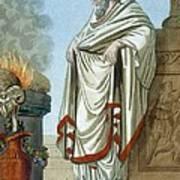 Pontifex Maximus, Illustration Art Print