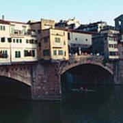 Ponto Vecchio Florence Palette Art Print