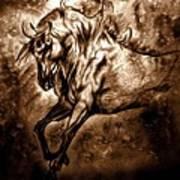 Pony Express Art Print
