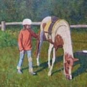 Pony Art Print by Terry Perham