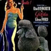 Poodle Standard Art - Gilda Movie Poster Art Print