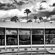 Pool Storm Palm Springs Art Print