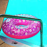 Pool Time Palm Springs Art Print