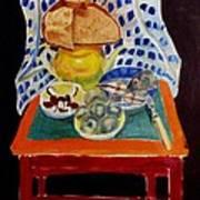 Poor Artist's Supper Art Print