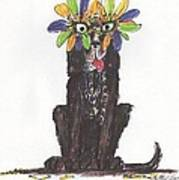 Poor Jack At Mardi Gras Art Print by Ellen Howell