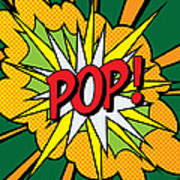 Pop Art 4 Art Print by Gary Grayson