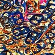 Pop Art B14 Art Print