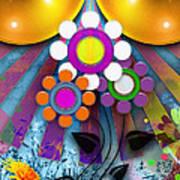 Pop Art Flower Art Print