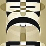 Pop Art People Totem 3 Art Print