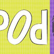 Pop Art Words 02 Art Print