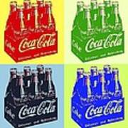 Pop Coke Art Print