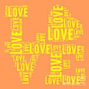 Pop Love 3 Art Print