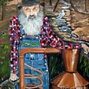 Popcorn Sutton - Bootlegger - Still Art Print