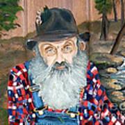 Popcorn Sutton - Moonshine Legend - Landscape View Art Print