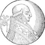 Pope Gregory II (d Art Print