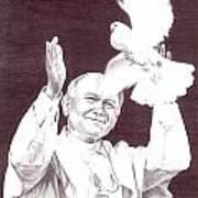 St. John Paul II Art Print