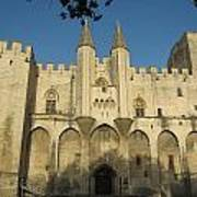 Popes Palace In Avignon Art Print