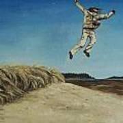 Popham Jump  Art Print