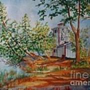 Poplar Point Lighthouse Art Print