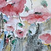 Poppies 01 Art Print