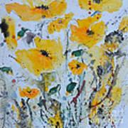 Poppies 03 Art Print