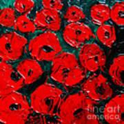 Poppies 3 Art Print