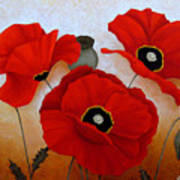 Poppies II Art Print