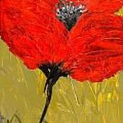 Poppy 46 Art Print